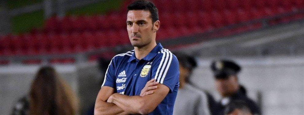 Lionel Scaloni marginó de la lista preliminar de convocados para la Copa América a jugadores de peso.