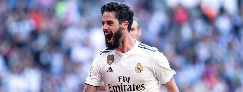 Isco Alarcón selló su futuro en una reunión con Florentino Pérez y Zidane. Seguirá en el Real Madrid