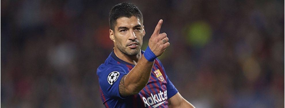 El Barça ha encontrado al relevo de Luis Suárez. Y ese será Christian Stuani, que costará 7 millones de euros