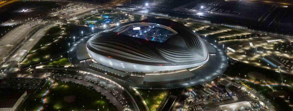 El estadio Al Janoub de Al Wakrah fue inaugurado por todo lo alto, en la final de la Copa Emir, y con la despedida del futbol profesional de Xavi Hernández