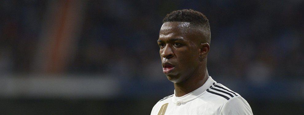 Vinícius se ha quedado sin participar en la Copa América y Guardiola y Simeone tantean a un jugador que ha ocupado el puesto del madridista.