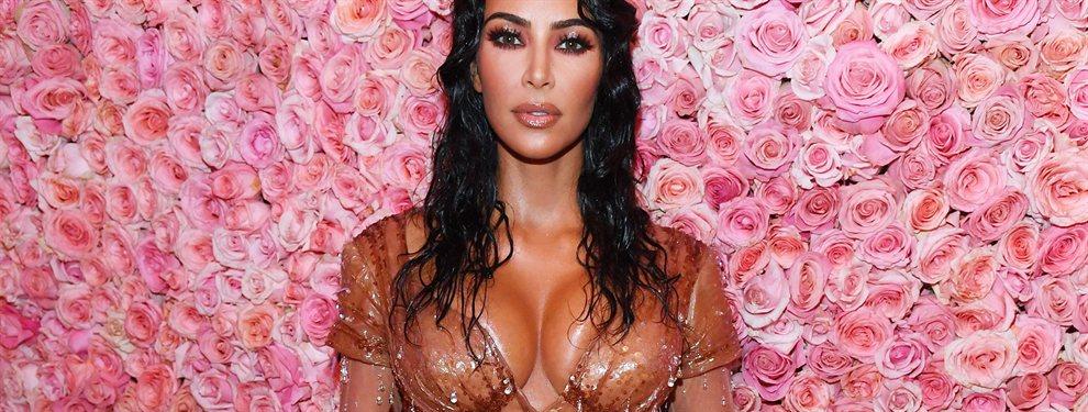 Kim Kardashian aprovechó su quinto aniversario de boda con el cantante Kanye West para hacer una publicación en su instagram.