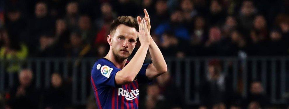 Desde el curso pasado la salida de Ivan Rakitić suena con fuerza en el Barça, el croata de 31 años se siente a gusto en el club.