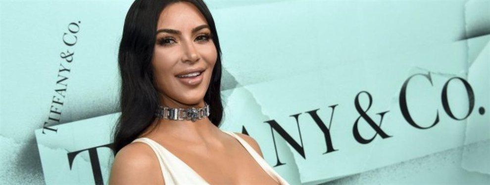 Kim Kardashian ha celebrado su aniversario con Kanye West de la manera más espectacular.