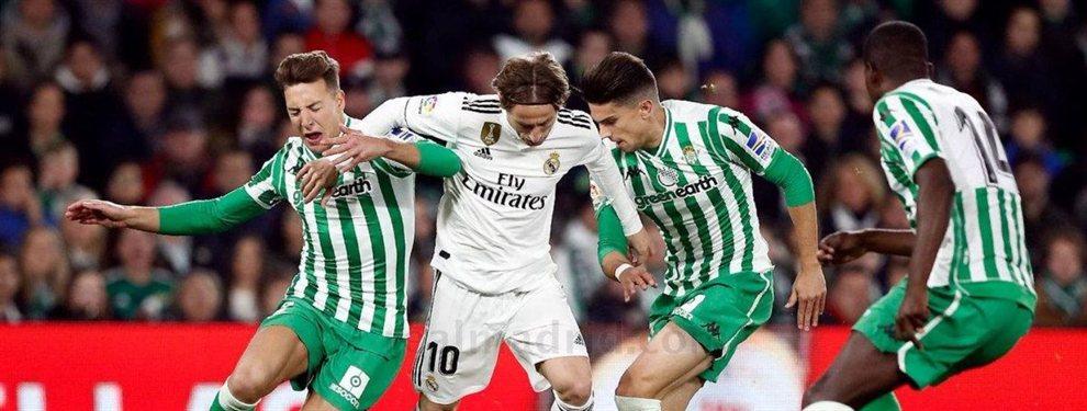 El Real Madrid acabó la temporada de la peor de las maneras con una dura derrota en el Santiago Bernabéu ante el Real Betis de Quique Setién por 0-2.