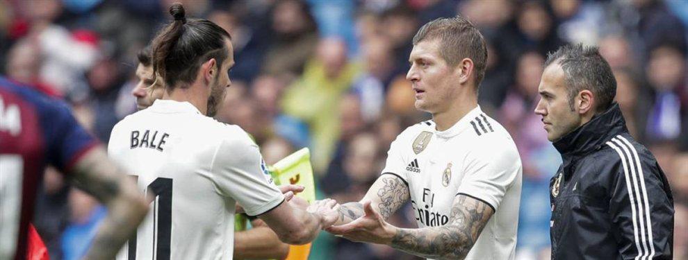 Toni Kroos y Gareth Bale estuvieron de risitas mientras el Real Madrid perdía un nuevo partido.