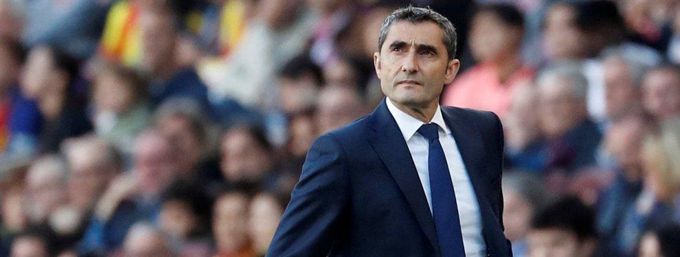 Ernesto Valverde puede salir del Barça en verano y Quique Setién podría ser su relevo