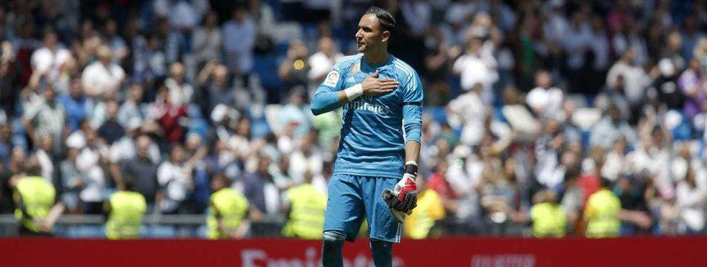 Keylor Navas abandonará el Real Madrid pero seguirá en España, ya que no quiere salir de la Liga Santander