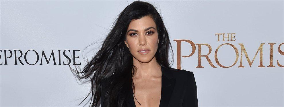Kourtney Kardashian hizo honor a su apellido con una fotografía que volvió a ser tendencia