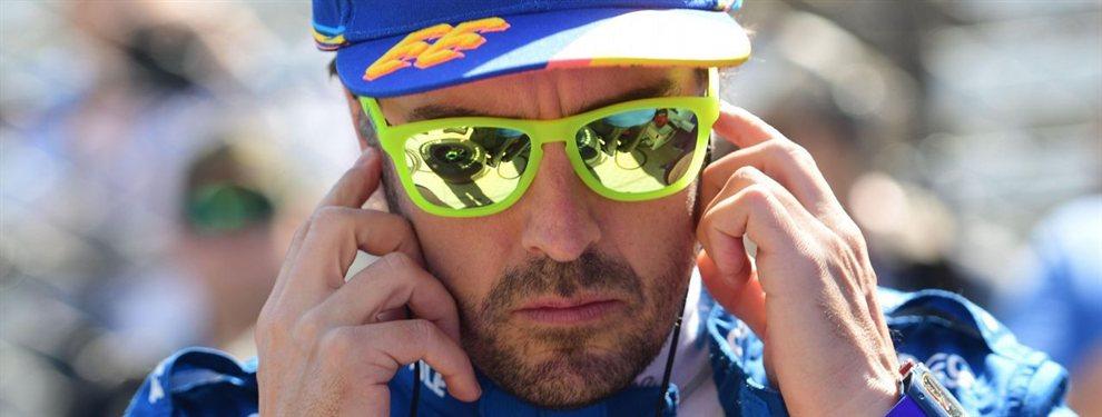 Fernando Alonso sale por la puerta de atrás de las 500 Millas de Indianápolis después de firmar un fracaso sonado