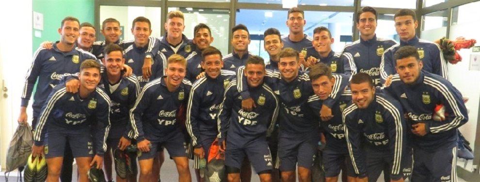 La Selección Argentina Sub 20 ya se encuentra en Polonia y práctico de cara al Mundial.