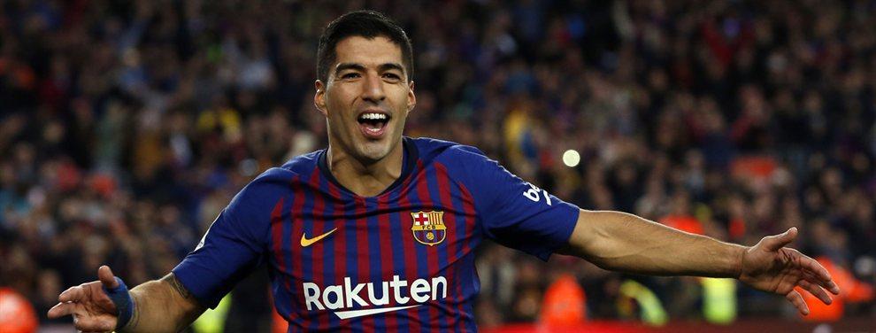El Barça pelea por encontrar a un relevo para Luis Suárez, y ese podría ser Maxi Gómez
