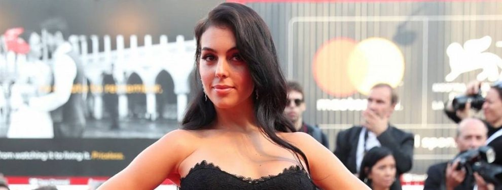 La foto de Georgina Rodríguez recién salida de la ducha