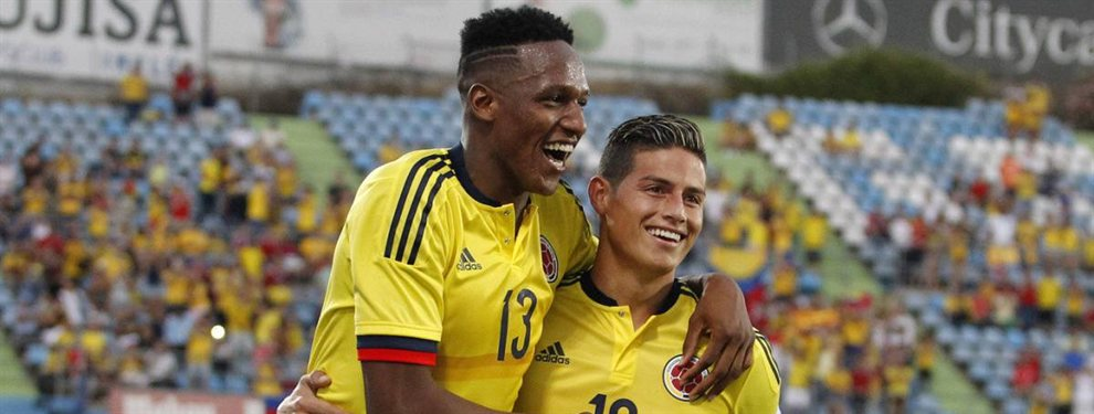 James Rodríguez ha rechazado al Everton, alegando que no es un grande de Europa. Algo que no ha sentado bien a Yerry Mina...