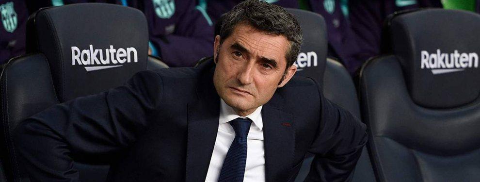 Ernesto Valverde puede salir del Barça, que ya tiene atado a su recambio, Massimiliano Allegri