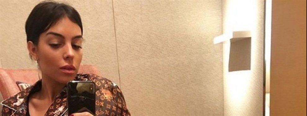 Georgina Rodríguez es experta en calentar las redes y, por si habían dudas, lo demostró una vez más
