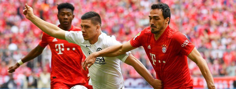 El Real Madrid ha decidido lanzarse a por Piatek una vez se ha descartado la llegada de Jovic