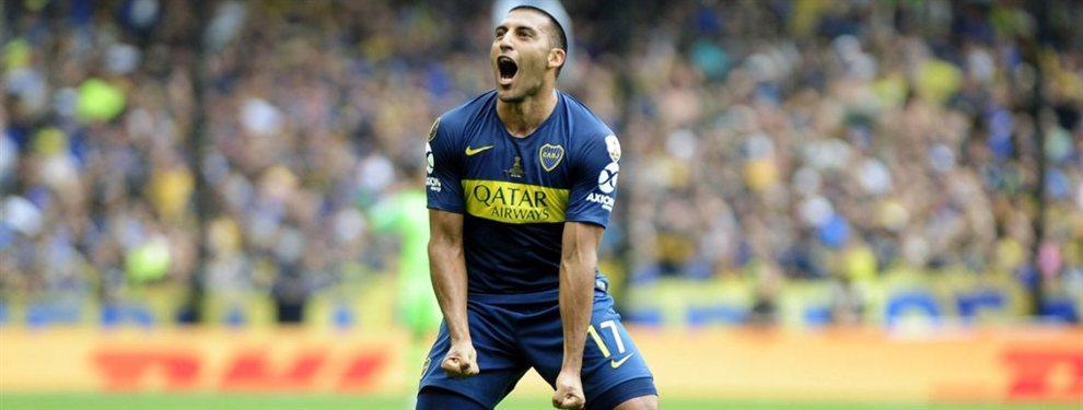 Wanchope Ábila está recuperado y podrá ser de la partida el domingo contra Argentinos.