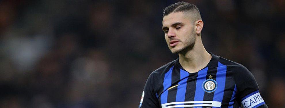 El Inter aún no decide el futuro de Icardi y ya piensa en Lukaku para reemplazarlo.