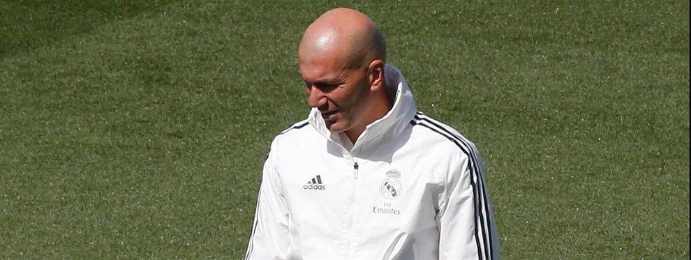 Zinedine Zidane le ha comunicado a Florentino Pérez que no cuenta con Raúl de Tomás para el Real Madrid