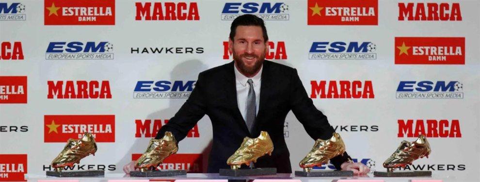 Lionel Messi hizo historia y se convirtió en el primer futbolista de la historia en ganar la Bota de Oro.
