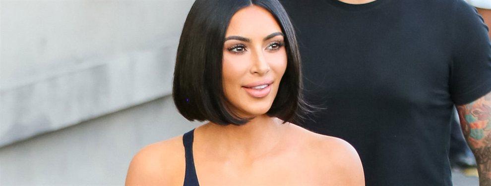 En su última publicación Kim Kardashian en Instagram ha enseñado que se puede ser glamourosa jugando a tenis en ropa interior.