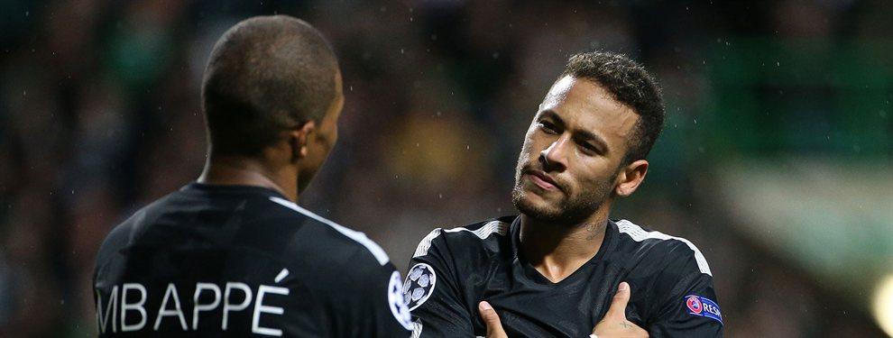 Neymar se la juega a Mbappé: se va del PSG (y Griezmann está implicado)