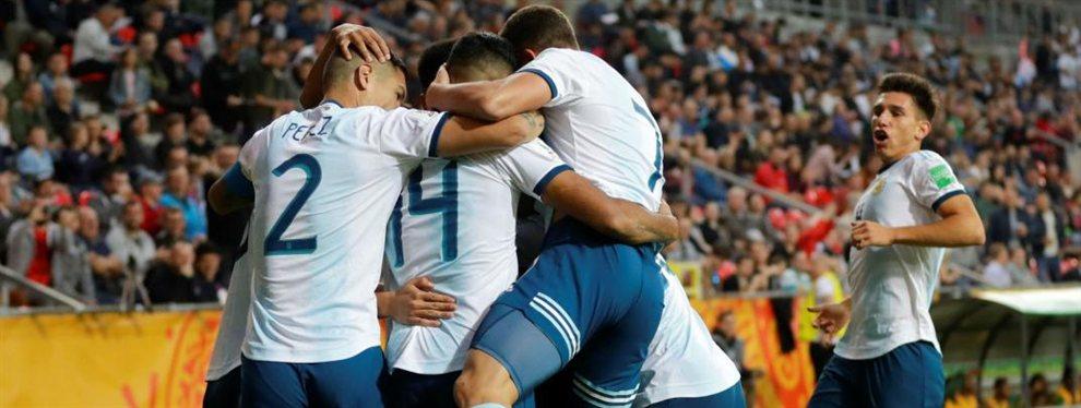 La Selección Argentina Sub 20 venció por 5 a 2 a Sudáfrica en el debut del Mundial.
