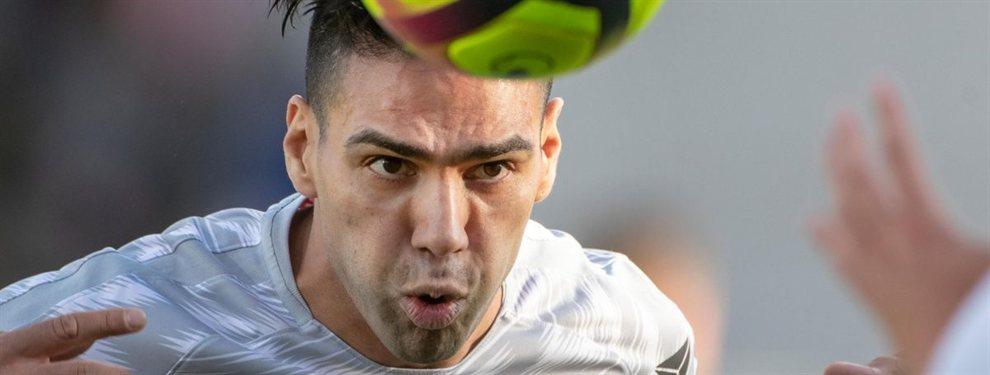 Radamel Falcao elige una de las ofertas para jugar en España