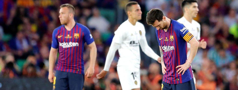El Barcelona  de Messi cayó por 2 a 1 ante el Valencia en la final de la Copa del Rey.