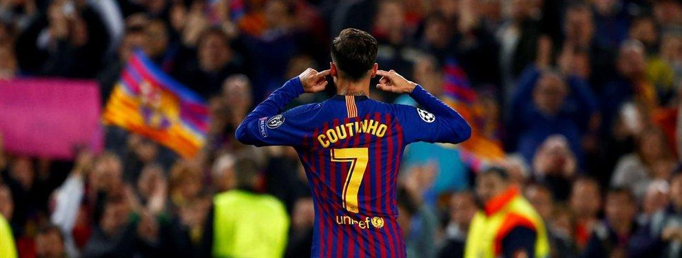 Philippe Coutinho ha bajado su precio a la mitad y el Barça espera quitárselo de encima.