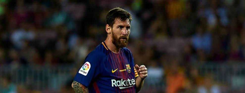 Florentino Pérez se quiere aprovechar del mal momento del Barça y de la desgana de Leo Messi para decir unas buenas palabras de un crack.