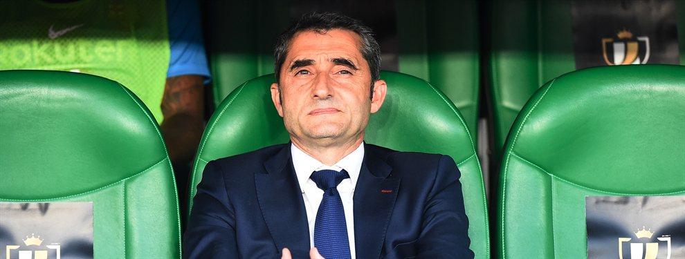 Ernesto Valverde tiene pie y medio fuera del Barça y Allegri, Setién y Xavi Hernández pueden ser sus sustitutos