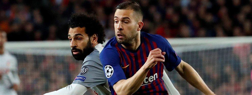 Jordi Alba ha bajado sus prestaciones notablemente desde su renovación con el Barça, un lío que todos saben y callan