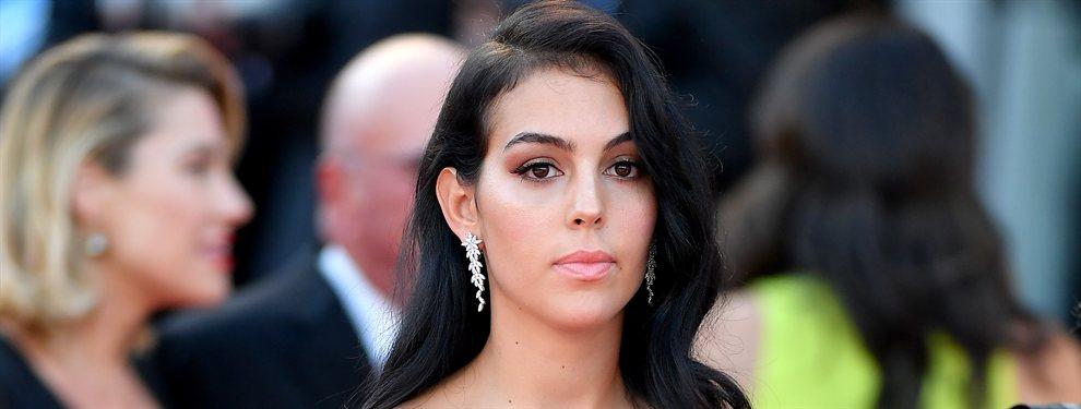 Georgina Rodríguez calentó las redes sociales con un selfie en el que se la ve un trasero de escándalo