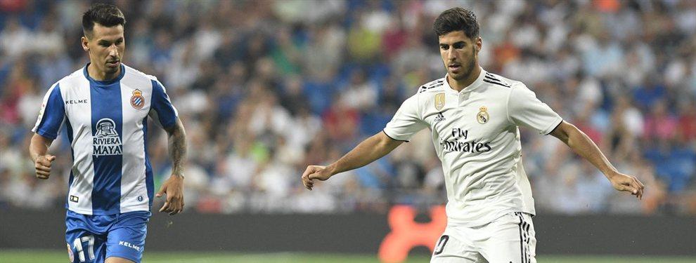 El Real Madrid pretende meter a Marco Asensio en la operación con el Tottenham por Eriksen