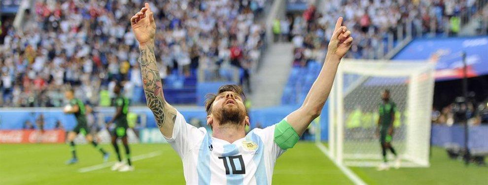 Lionel Messi se encuentra viajando desde Rosario hacia Ezeiza para sumarse a la Selección.