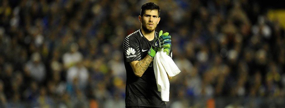 Agustín Rossi no seguirá en el Antofagasta de Chile y regresará a la Argentina donde lo pretenden dos equipos.