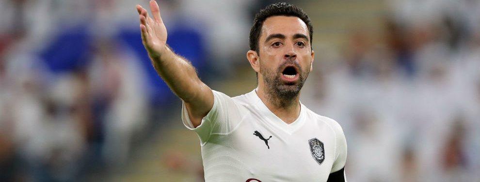 Xavi Hernández iniciará su carrera como entrenador en su ex club, el Al Sadd de Qatar.