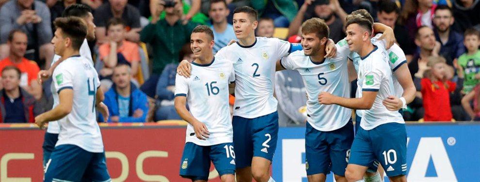 La Selección Argentina Sub 20 venció a Portugal por 2 a 0 y avanzó a los octavos de final.