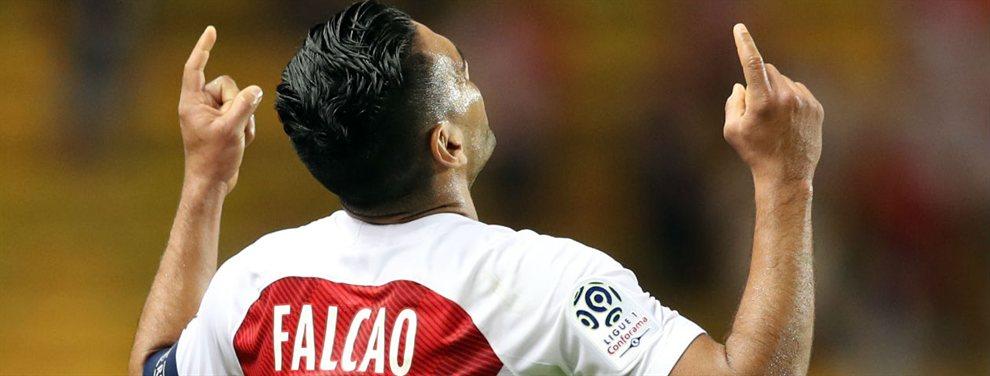 El Valencia se ha decantado por Radamel Falcao para la delantera, cuyo pase costará 20 millones
