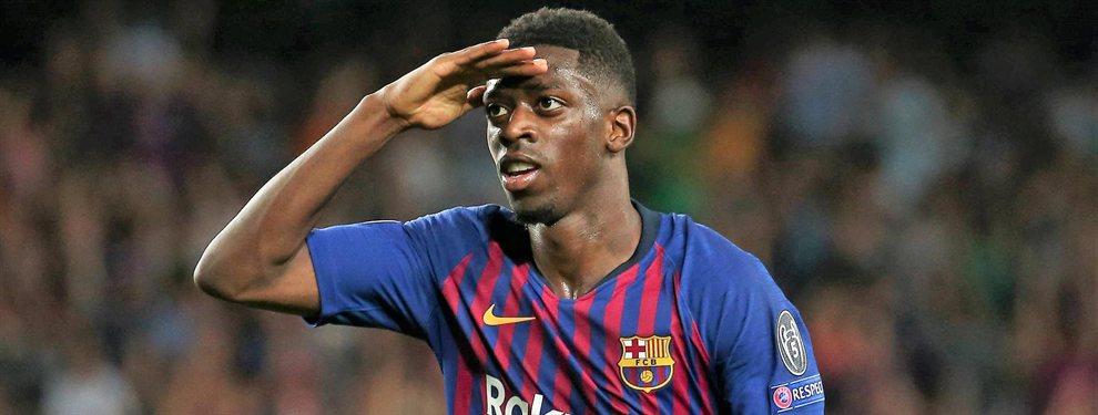 El Barça se plantea incluir a Ousmane Dembélé en la operación que sacaría a Neymar del PSG