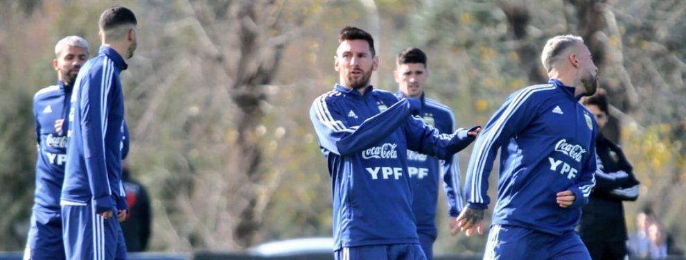 Lionel Messi se sumó a los entrenamientos de la Selección Argentina para la Copa América.