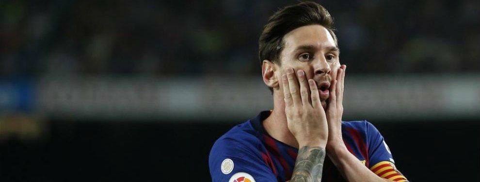 El Barcelona piensa en Stuani o Rodrigo para acompañar a Messi en la delantera catalana.