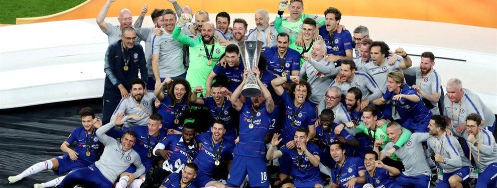 El Chelsea venció por 4 a 1 al Arsenal y se consagró campeón de la UEFA Europa League.