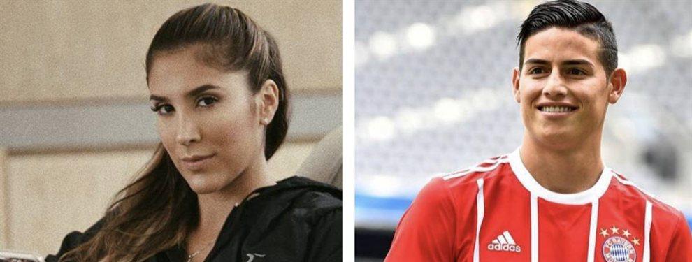 James Rodríguez y Daniela Ospina compartieron fotos en el cumpleaños de la hija que tienen en común