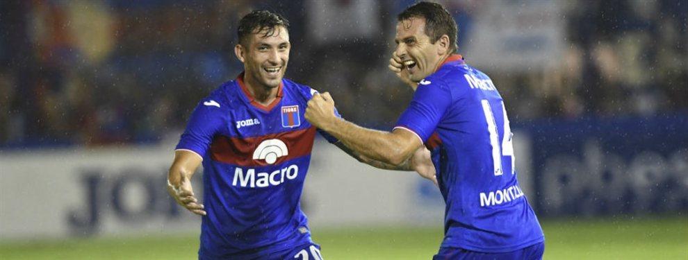 Walter Montillo renovó su contrato con Tigre y continuará en el club en la B Nacional.