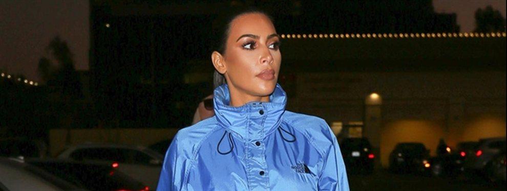 Kim Kardashian fue captada por las cámaras, y los rumores que hablan sobre un posible aumento de nalgas comienzan a aparecer