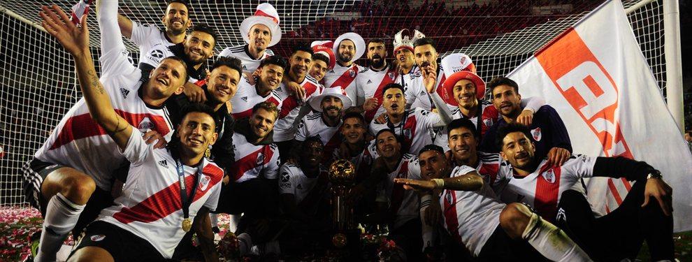 River venció por 3 a 0 a Atlético Paranaense y se coronó campeón de la Recopa Sudamericana.
