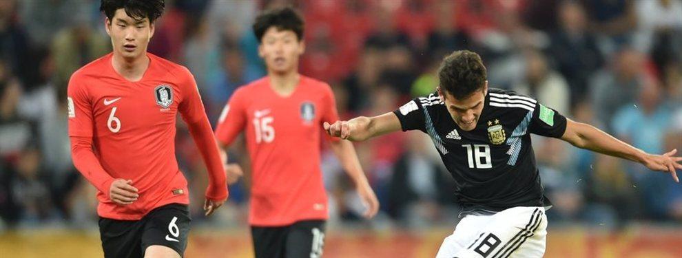 La Selección Argentina Sub 20 cayó por 2 a 1 ante Corea del Sur pero quedó primera.